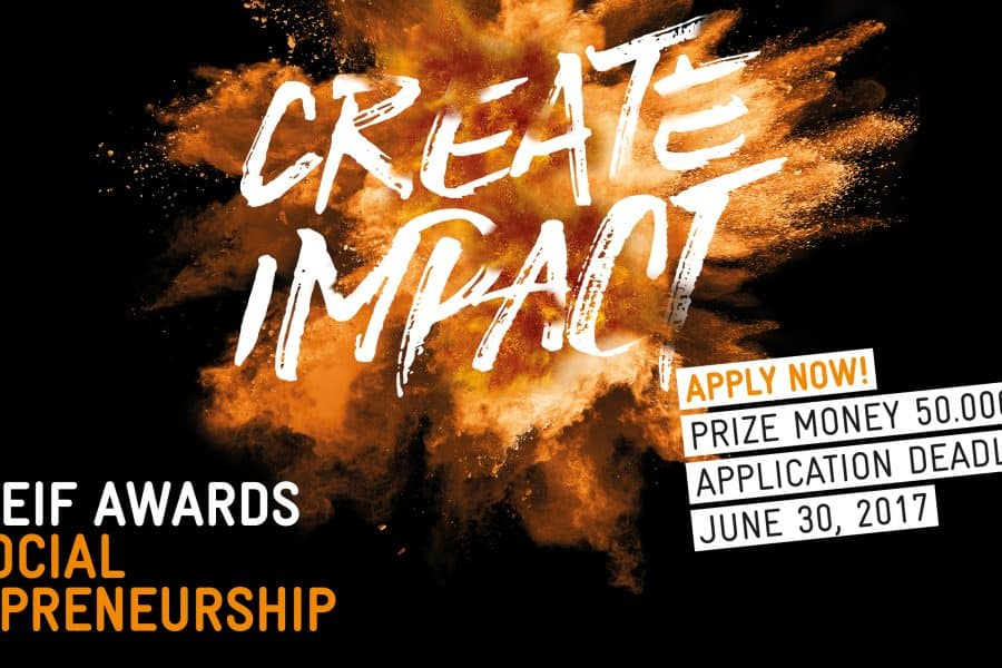 2017 Seif AWARDS for Social Entrepreneurship