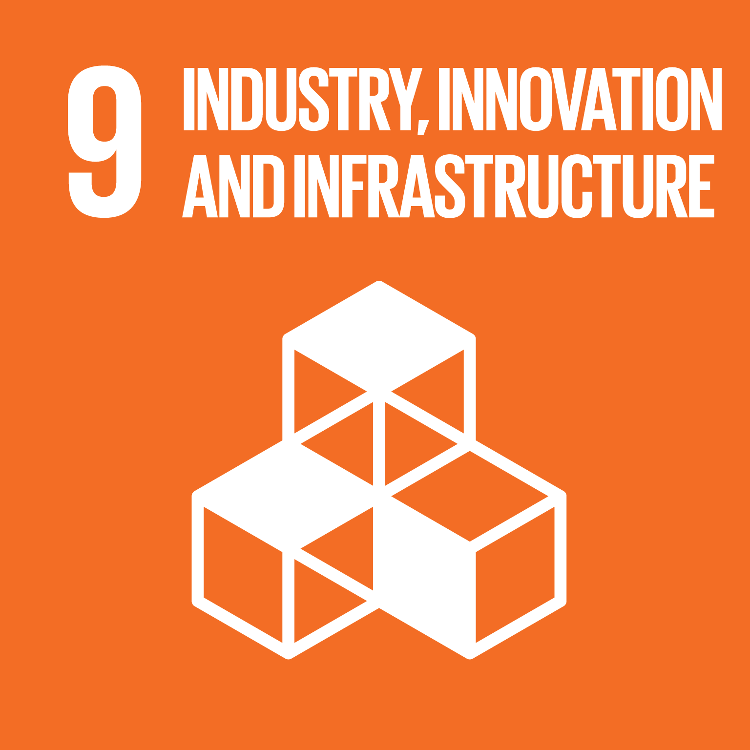 industry innovation and infrastructure icon